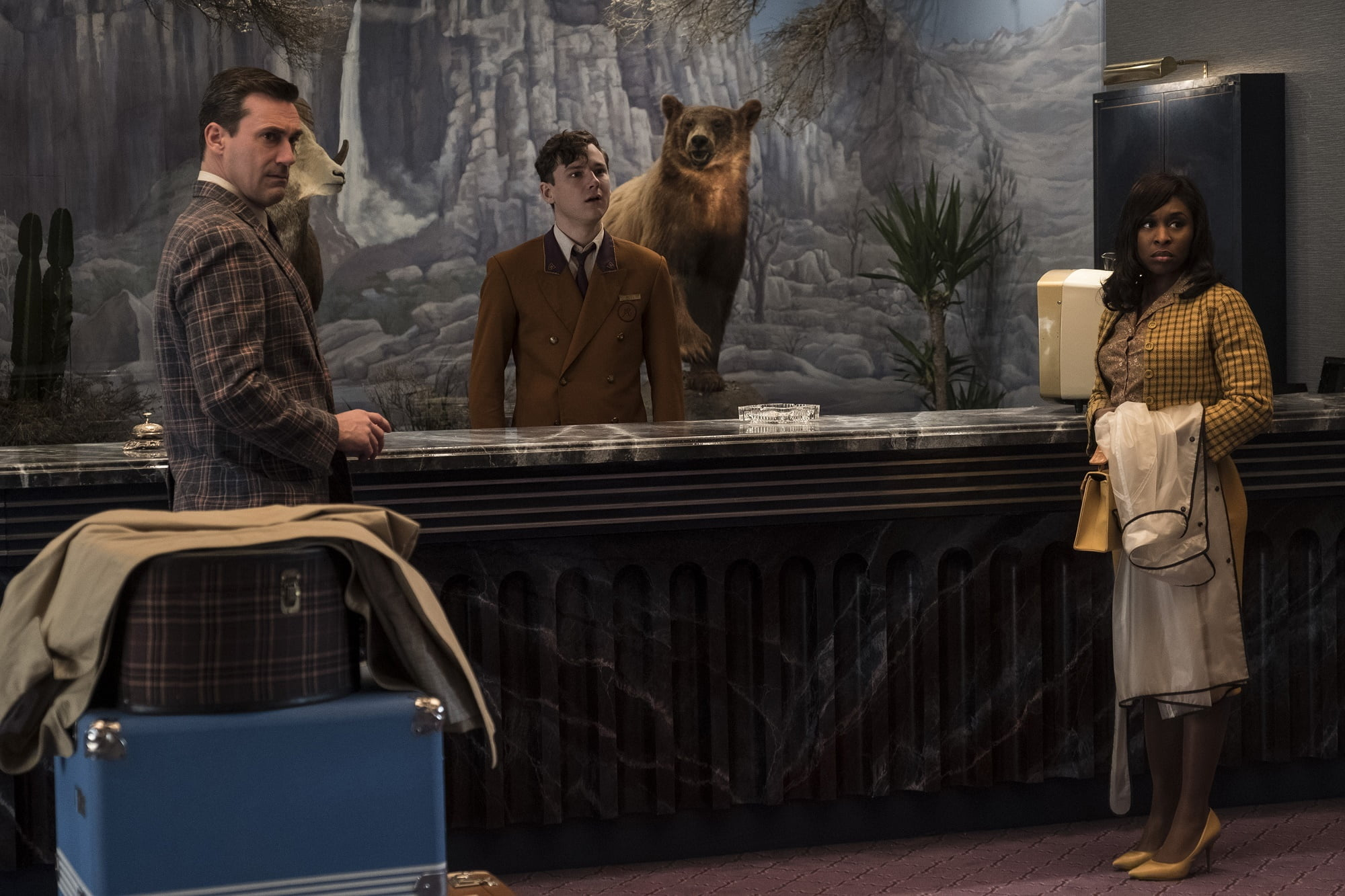 review bad times at the el royale the gate. Black Bedroom Furniture Sets. Home Design Ideas
