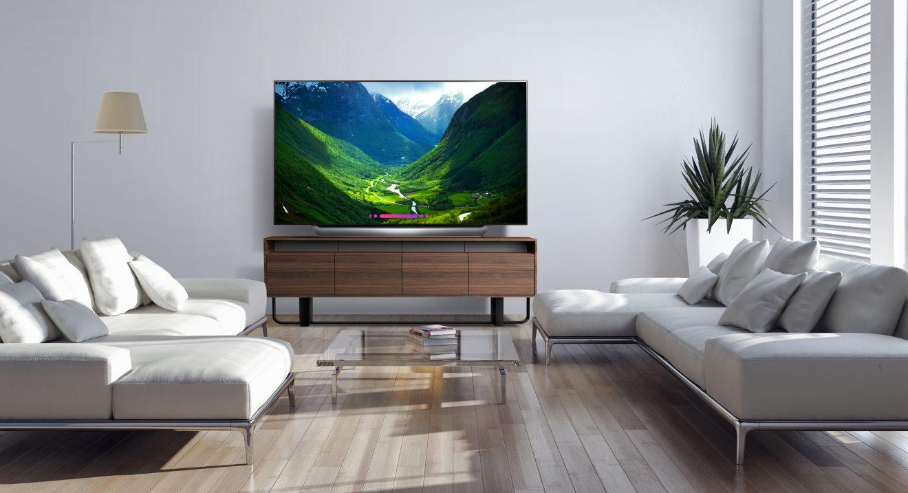 LG OLED C8 TV