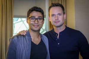 Director Akash Sherman & star Patrick J. Adams
