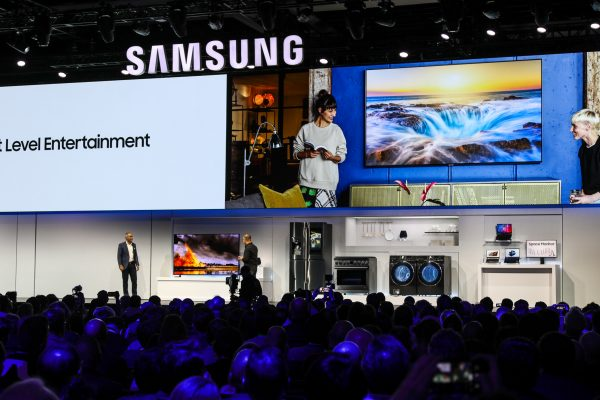 Samsung CES Press Conference