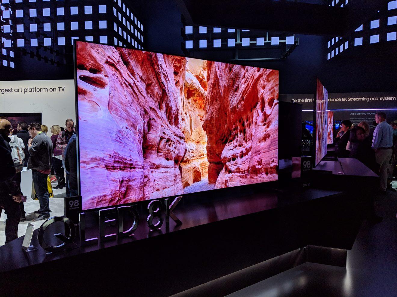 "Samsung 98"" QLED 8K TV"