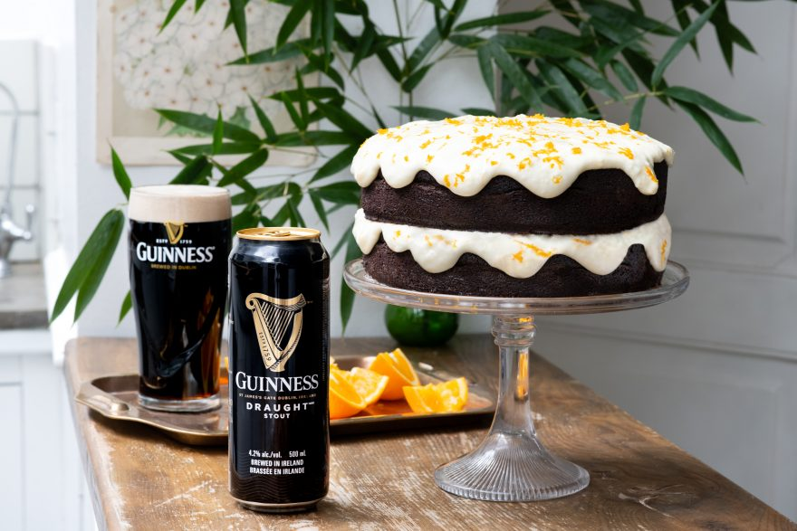 Chocolate Guinness Orange Cream Cake