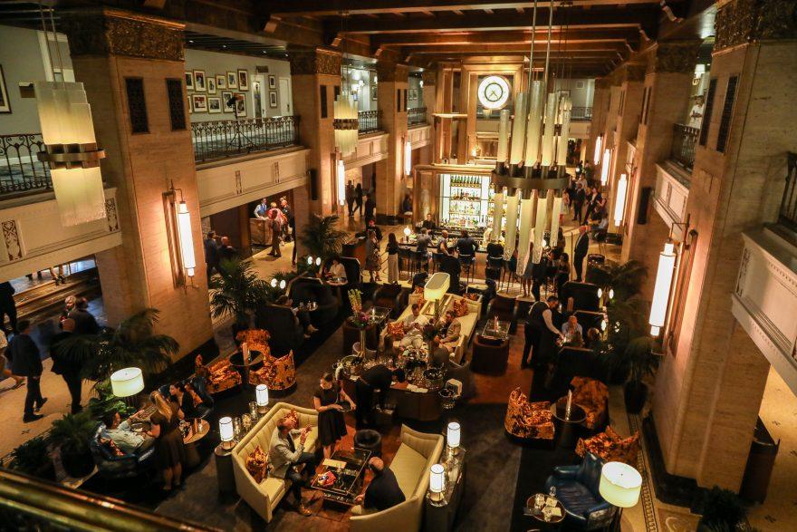 The new Fairmont Royal York Hotel lobby and Clockwork Lounge