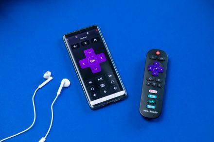 Roku app and Roku TV remote