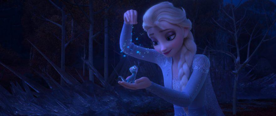 Bruni and Elsa in Frozen 2