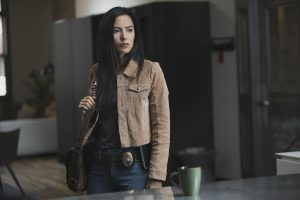 Jessica Matten as Sam Woodburn on Tribal