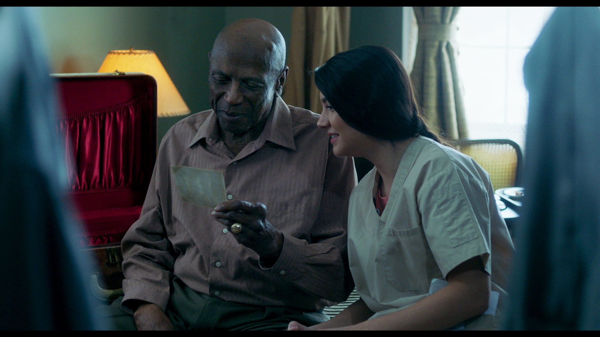 Louis Gossett Jr. and Ana Golja in The Cuban