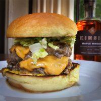 Beast's Ultimate Maple Whisky Turkey Burger
