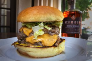 Beast's Ultimate Maple Whisky Turkey Burger