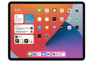 Apple iPadOS 14 widgets