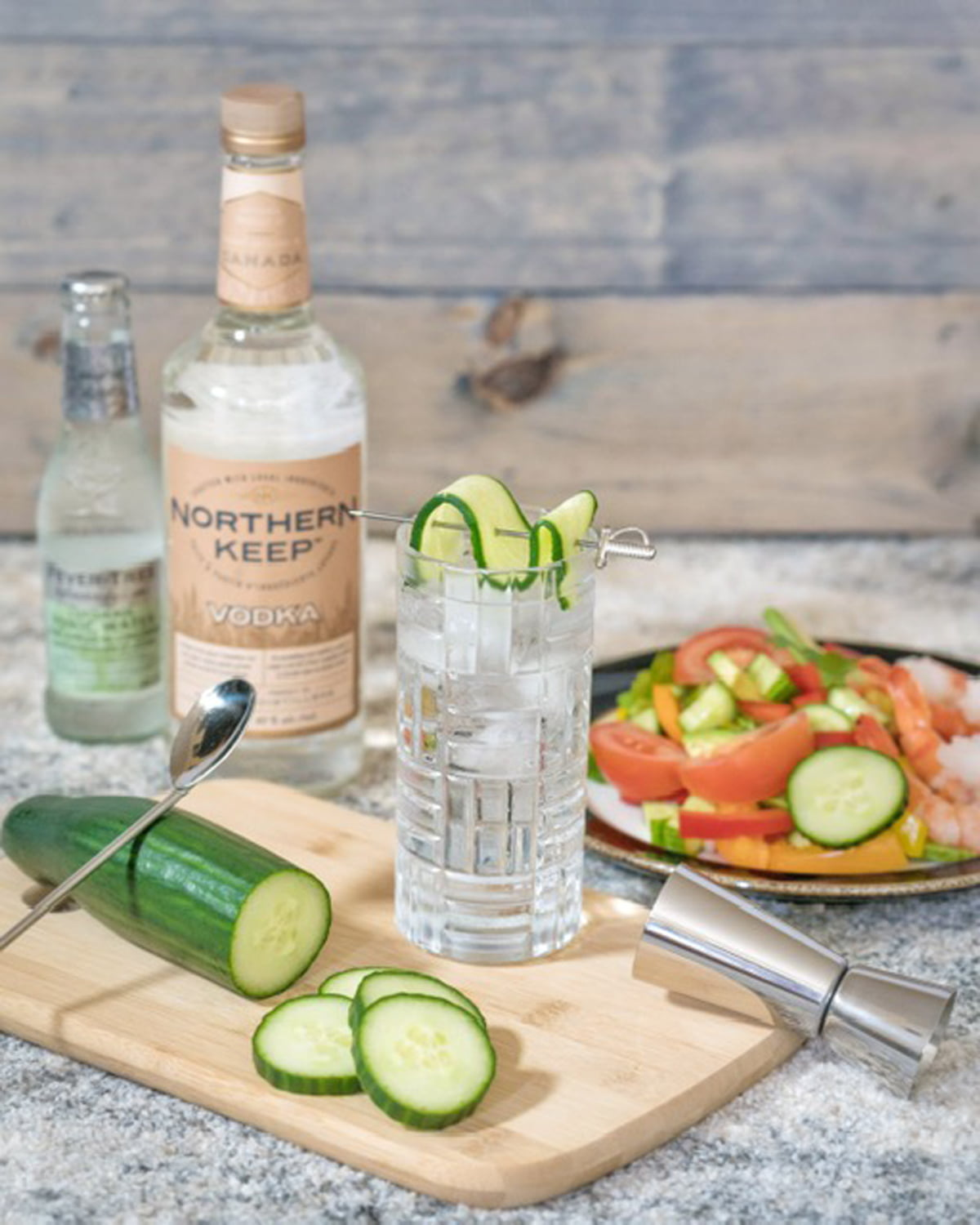 Northern Keep Vodka Cucumber Tonic