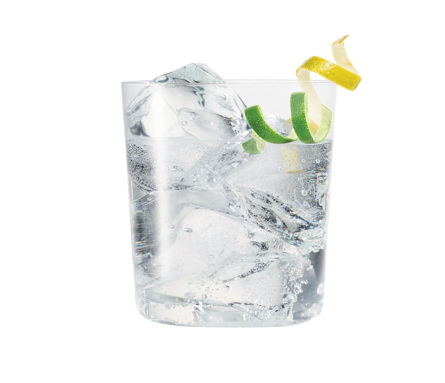 Northern Keep Vodka Soda with lemon lime twist