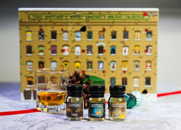Whisky holiday calendar