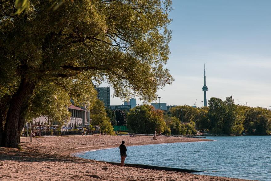 Canon EOS R5 image - Toronto view