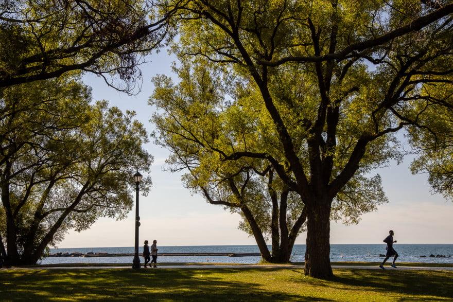 Canon EOS R5 image - Toronto lakeshore