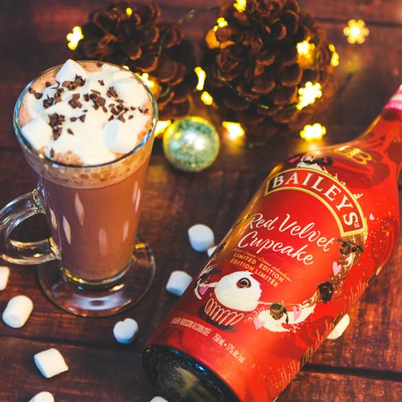 Baileys Red Velvet Hot Chocolate