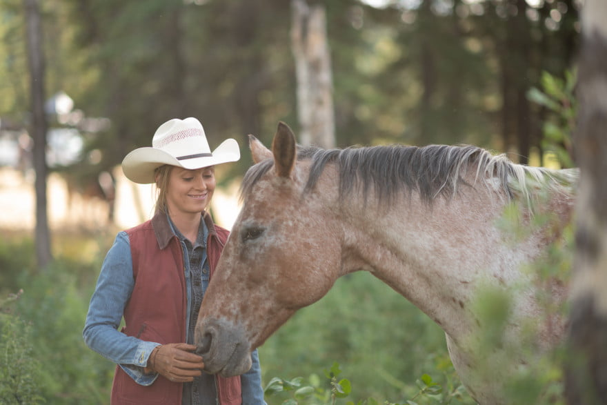 Amber Marshall on Heartland