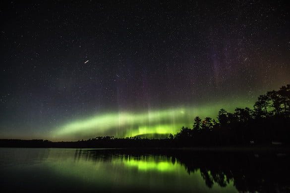 Northern Lights at Quetico Provincial Park