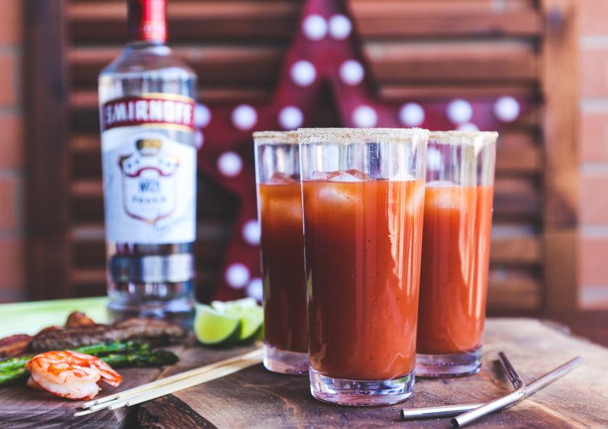 Smirnoff Caesar cocktail