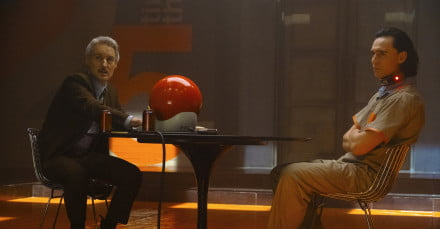 Owen Wilson and Tom Hiddleston in Loki
