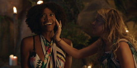Yvonne Orji as Emily and Meredith Hagner as Kyla