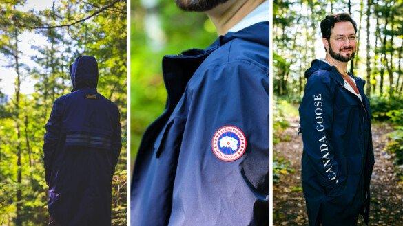 Canada Goose Seawolf rain jacket