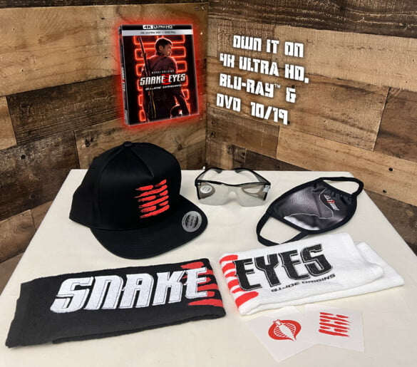 G.I. Joe: Snake Eyes - Origins prize pack